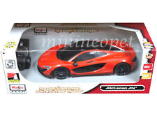 MAISTO TECH 81243 R/C RADIO REMOTE CONTROL CAR MCLAREN P1 1/14 ORANGE