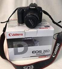 Canon EOS 20D Digital Camera, Canon EF 28-105mm 1:3.5-4.5 Lens