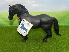Excellent HTF Breyer Horse 485 Black Friesian 92-95 Hang Tag Traditional Matte