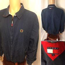 90s Vintage Tommy Hilfiger Light Spring Jacket Mens Large Sailing Spellout Retro