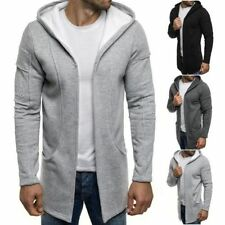 Sudadera con capucha de hombre de manga larga 100% algodón