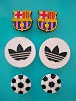 Jibbitz Croc Clog Shoe Charm Bracelet Wristband Accessories Sport Apparel Soccer