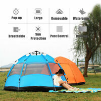 5-8 Persons Waterproof Automatic Outdoor Instant  Up Tent Camping Hiking Tent