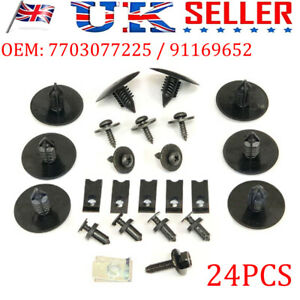 Wheel Arch Cover Liner Fitting Kit Fastener Clips For Opel/Vauxhall Vivaro 01-06