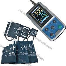 Pressione NIBP Monitor 24 ORE ambulatoriale sanguigna Holter,sei polsini,CE,FDA