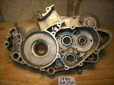 1990 RM250 LEFT & RIGHT CENTER CASES RM 250 ENGINE MOTOR CASE SET RMX250 RM BLOC