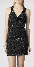 "**SALE** NEW ""ALLSAINTS"" BLACK ""CAIZA"" DRESS SIZE 4 (US) - TAGS ATTACHED!!"