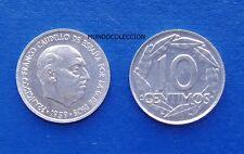 MONEDA DE 10 centimos 1959 Franco S/C - SPAIN km#790 UNC