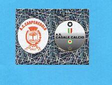 PANINI CALCIATORI 2005-2006- Figurina n.723- CARPENEDOLO+CASALE -SCUDETTO-NEW