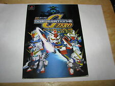 SD Gundam G Generation-0 Zero Playstation Guide Book Japan Import