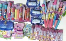 Lot of 39 Disney Princess Party Favors  Necklaces Stickers Jumbo Pens New