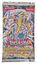 Yugioh Hidden Arsenal 6 Booster Pack 1st Edition Sealed Fast Shipping!