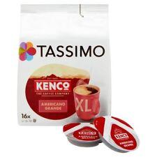 Tassimo Kenco Americano Grande XL Coffee Pods 16s 144g