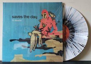 SAVES THE DAY - In Reverie LP Black/Blue Splatter Vinyl Emo Vagrant Equal Vision