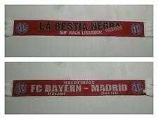 S715 SCHAL FC BAYERN MÜNCHEN REAL MADRID 2013/14 Bundesliga Fußball Ultras DFB