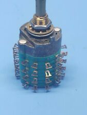 Rotary Electroswitch 205 0118 Vintage Stock No Box