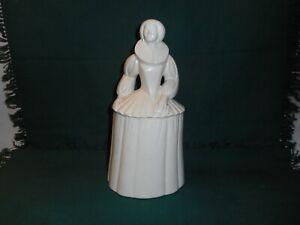 vintage Poole pottery white Elizabethan figure