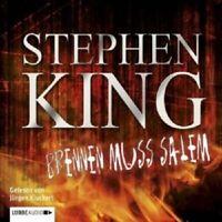STEPHEN KING - BRENNEN MUSS SALEM 3 CD NEW