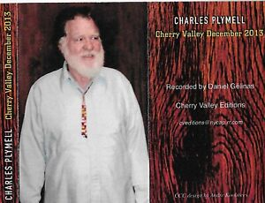 CHARLES PLYMELL READING CHERRY VALLEY NY DECEMBER 2013 CASSETTE SIGNED BY POET