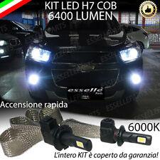 KIT LED H7 CHEVROLET CAPTIVA 6000K XENON NO AVARIA ANABBAGLIANTE LED 6400 LM