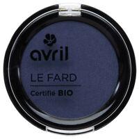 Ombretto a Blu da Mezzanotte Iridescente Certificato Bio Vegano Cosmetico Avril