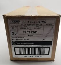 Feit Electric | Fluorescent Lamp Daylight |  F20T12/D Lot of 25