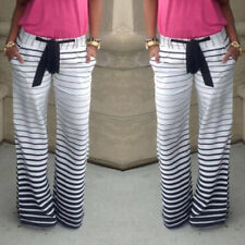 LADIES FLORAL YOGA PALAZZO TROUSERS WOMENS SUMMER WIDE LEG PANTS PLUS SIZE NEW