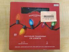 Wondershop 25 Lights Multicolor Transparent C9 Lights