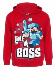 Boys Kids Youth Minecraft Hoodie Sweatshirt Tops