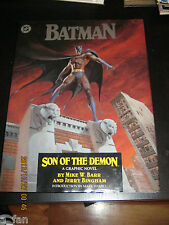 Batman:  Son of the Demon 1987 Hardcover DC Comics 1st Printing                1
