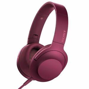 Sony MDR-100AAP Premium Hi-Res Stereo Headphones MDR100AAP Bordeaux Pink