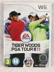 Tiger Woods PGA Tour 11 (Nintendo Wii, 2010) - Complete - PAL - EA Sports