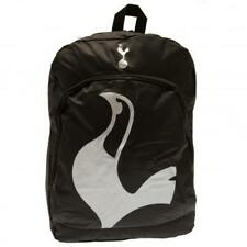 Tottenham Hotspur FC Official Black Nylon Backpack School Bag Spurs Present Gift