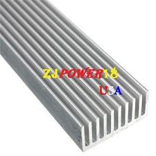 10pcs Aluminum Heatsink 300mm*25mm*12mm For High Power 1/3/5W LED Emitter Diode