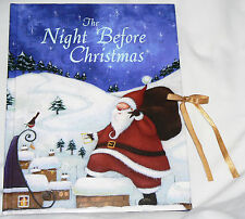 The Night Before Christmas - Clement C. Moore (2001 Parragon HC) ribbon tie