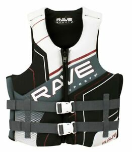 NEW Rave Adult Dual Neo Life Drainage Neoprene Vest for Comfortable Fit - M/LG