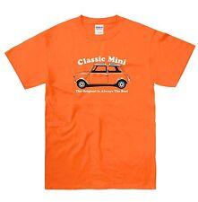 Classic Mini 1000 Cooper 60's retro car t shirt Tee Monte Carlo rally shirt