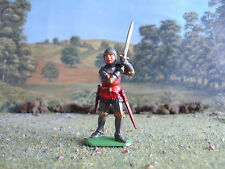 Italeri Medieval English knight attacking 1:32 painted