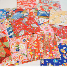 50 Bl. 10*10cm Origami Japanisches Büttenpapier Japan Papier Washi Faltpapier