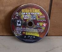 Borderlands Game of the Year Edition Sony PlayStation 3 disc only Tested