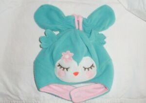 Carter's Infant Sleepy Bird Hat & Mittens Set Retails $18 New Nwt