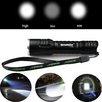Skywolfeye Flashlight Zoomable Focus 20000lm Tactical T6 LED 18650 Lamp Torch