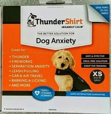 New listing Thundershirt For Dog Anxiety Behavior Training Gray Xs (Or Xxs By Request)