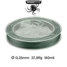 Spiderwire stealth treccia pesca multifibra trecciato mulinello spinning e carpa