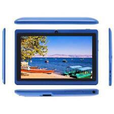 "8G 7"" Google Android 4.4 Education Children Kid Mid Tablet HD Quad Core Blue JS"
