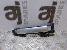 # TOYOTA RAV4 2.0 2001 DRIVERS SIDE FRONT EXTERIOR DOOR HANDLE (SILVER)