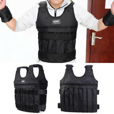 Adjustable Weighted Weight 20kg Vest Gym Training Running Durable Comfortable