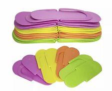 360 pairs/case Multi Color Flip Flop Nail Spa