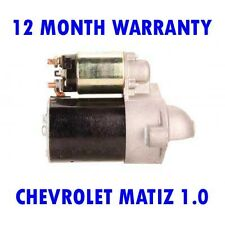 CHEVROLET MATIZ 1.0 2005 2006 2007 2008 2009 - 2015 REMANUFACTURED STARTER MOTOR