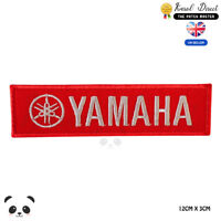 Yamaha Motor Cycle Brand Embroidered Iron On Sew On Patch Badge For Clothes etc